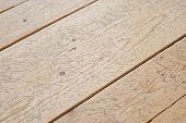 Different Sized Planks Of Parquet Floor