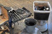 glassblower tools