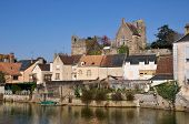 Beaumont sur Sarthe in France