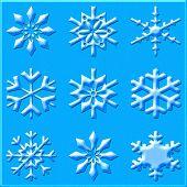 Verschiedene andere Schneeflocken