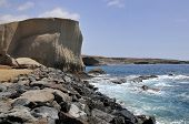 Rocky coast of San Miguel at Tenerife