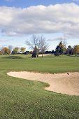 Golf Bunker Hazard