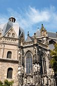 Detail of Aachen Cathedral or Imperial Cathedral