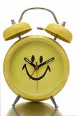 Happy Face Clock