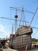 Malacca - Maritime Museum, Flor de la Mar Nau replica