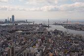 Osaka From Skyscraper