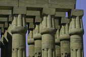 Columns At Luxor Temple