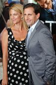 NEW YORK - JULY 19: Steve Carell and wife Nancy attend the world movie premiere of