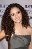 LOS ANGELES - JUL 31:  Madison Pettis arriving at the13th Birthday Party for Madison Pettis at Eden on July 31, 2011 in Los Angeles, CA