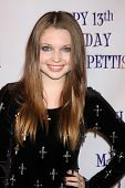 LOS ANGELES - JUL 31:  Sammi Hanratty arriving at the13th Birthday Party for Madison Pettis at Eden on July 31, 2011 in Los Angeles, CA