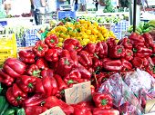 Plentiful  Peppers  Santa Pola Open Air Market