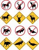 Símbolos de la vida silvestre