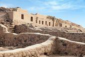 Los Paredones - Historic Ruins Of Incan Castle In Nazca Or Nazca Town, Peru poster
