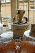 Roman Badewasser aus Bath, England