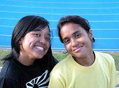 Two Asian Female Friends