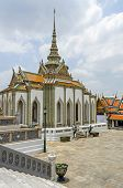 Scripture Hall Phra Mondop Containing A Small Library Of Buddhist Scriptures In A Buddhist Temple Co poster