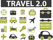 new travel signs. vector