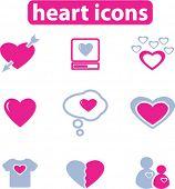 ícones de coração