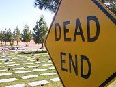 Cemetary Sign
