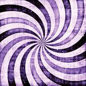 Purple grunge swirl