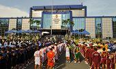 Esportes de polícia nacional Filipinas festa 2012
