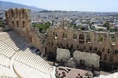 Part Of Odeon Of Herodes Atticus