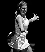 MELBOURNE - JANUARY 23: Victoria Azarenka of Belarus in her quarter final win over Svetlana Kuznetso