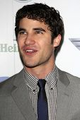 LOS ANGELES - FEB 10:  Darren Criss arrives at the Warner Music Group post Grammy party at the Chate