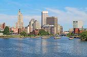 Skyline Of Providence, Rhode Island