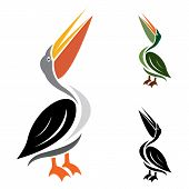 foto of shadoof  - Vector image of an stork on white background - JPG