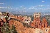 Great colorful sandstone Spires
