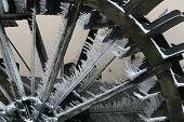 winter watermill