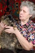 Grandmother Tell Tales With Kitty