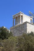 View Of Propylaea Of The Athenian Acropolis