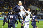 Uefa Champions League Game Between Fc Paris Saint-germain And Fc Dynamo Kyiv