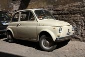 Fiat 500 In Rom