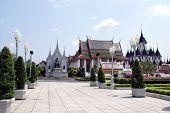 Wat Ratchanadda. Loha Prasat, Bangkok, Thailand