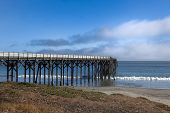 San Simoen Pier In Southern California
