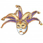 Venetian Mask - vector drawing. Eps10