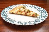Slice Of Fresh Pizza