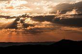 Sunset Over Windhoek