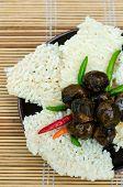 Miang Lao Rice Cracker