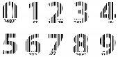 Business Bar Code Alphabet Numbers