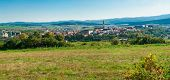 Famous Town of Levoca, Slovakia. UNESCO World Heritage Site. Panoramic photo