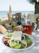 Greek Salad In The  Islands