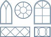 Decorative window blueprints