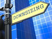 Downsizing. Business Concept.