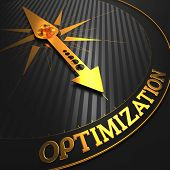 Optimization. Business Concept.