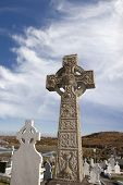 Graveyard In Kincasslagh County Donegal