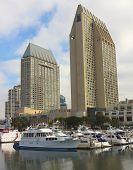 A Hyatt Manchester Grand Shot, San Diego